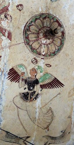 15 alt 2 Angel in a Tempel's Ceiling, Bundi, India